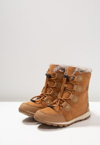 Sorel - YOUTH WHITNEY - Lace-up ankle boots - elk/natural - 3