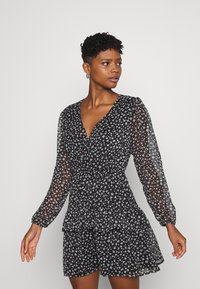 JDY - JDYPENELOPE DRESS - Freizeitkleid - black/grey - 0