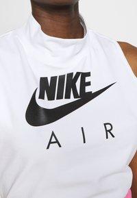Nike Sportswear - AIR TANK MOCK - Topper - white/black - 6