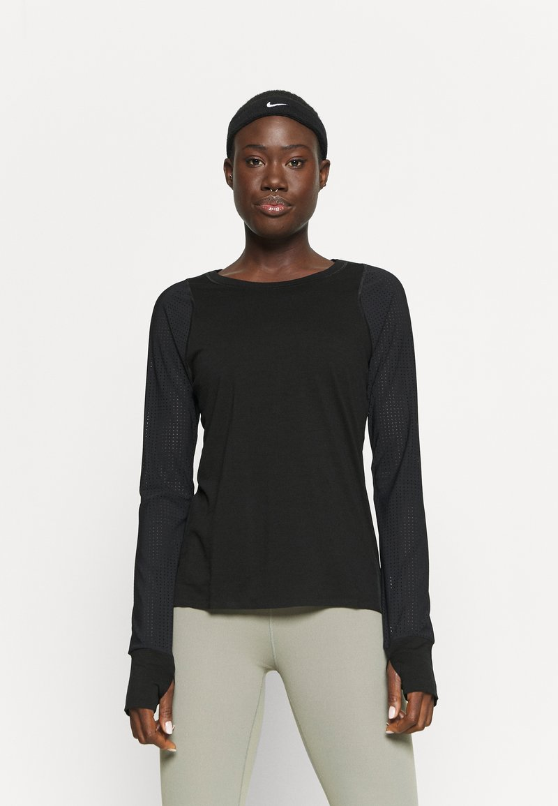 Sweaty Betty - BREEZE RUNNING - Long sleeved top - black