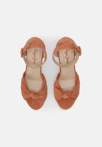 Pepe Jeans - MAIDA PEACH - Platform sandals - spice - 4