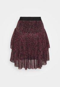 TIFFANI - A-line skirt - purple