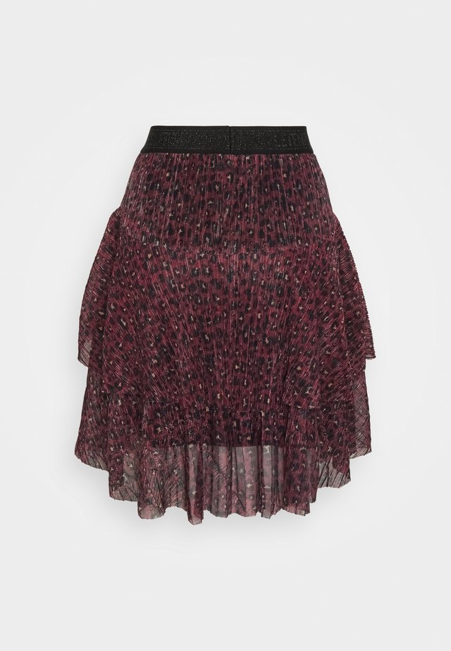 TIFFANI - A-line skirt - purple