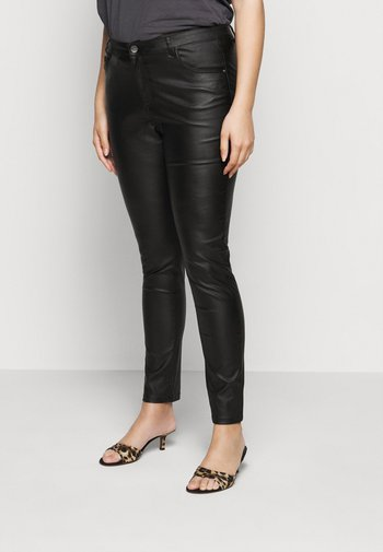 KCADELEN COATED - Jeans Skinny Fit - black deep