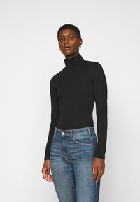 Even&Odd Tall - 2 PACK  - Long sleeved top - black - 1