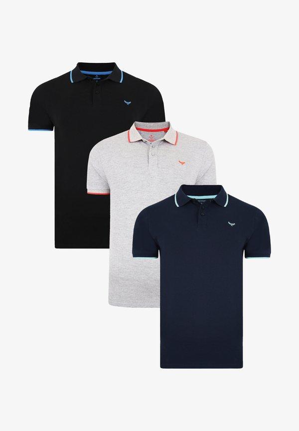 Threadbare THREADBARE POLO SHIRT NEVADA 3ER PACK - Koszulka polo - mehrfarbig/wielokolorowy Odzież Męska XCLR