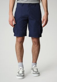 Napapijri - N-ICE CARGO - Shorts - medieval blue - 0