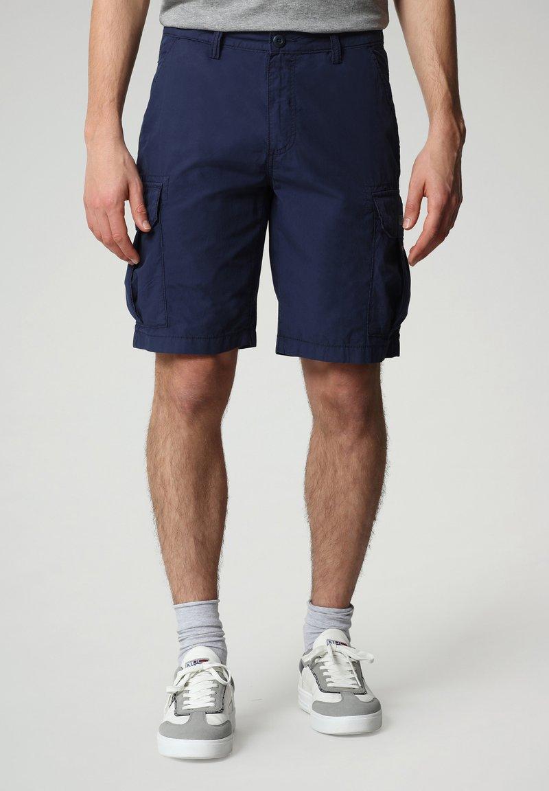 Napapijri - N-ICE CARGO - Shorts - medieval blue