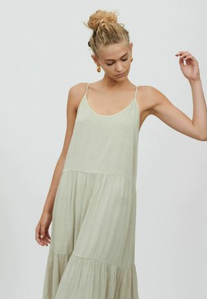 COSMO STRAP - Day dress - oatmeal