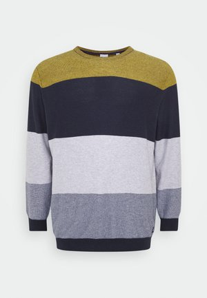 JORFLAME KNIT CREW NECK  - Jumper - spicy mustard