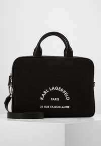 KARL LAGERFELD - GUILLAUME LAP SLEEVE - Briefcase - black - 1