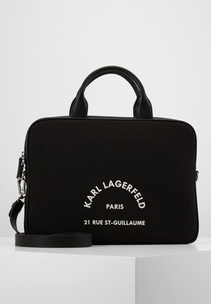 GUILLAUME LAP SLEEVE - Briefcase - black