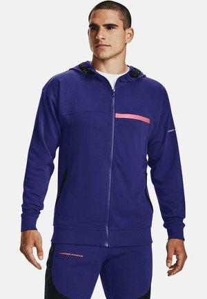 RIVAL TERRY - Zip-up sweatshirt - regal