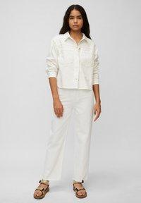 Marc O'Polo DENIM - Denim jacket - multi/bright white - 1