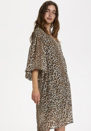SLETERI  - Day dress - beige leopard