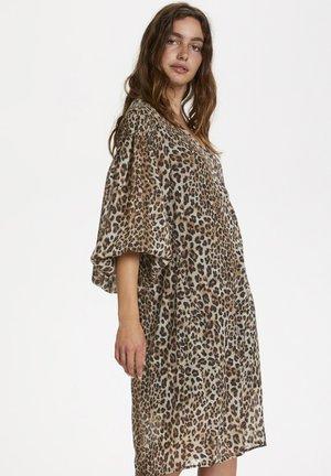 SLETERI  - Korte jurk - beige leopard