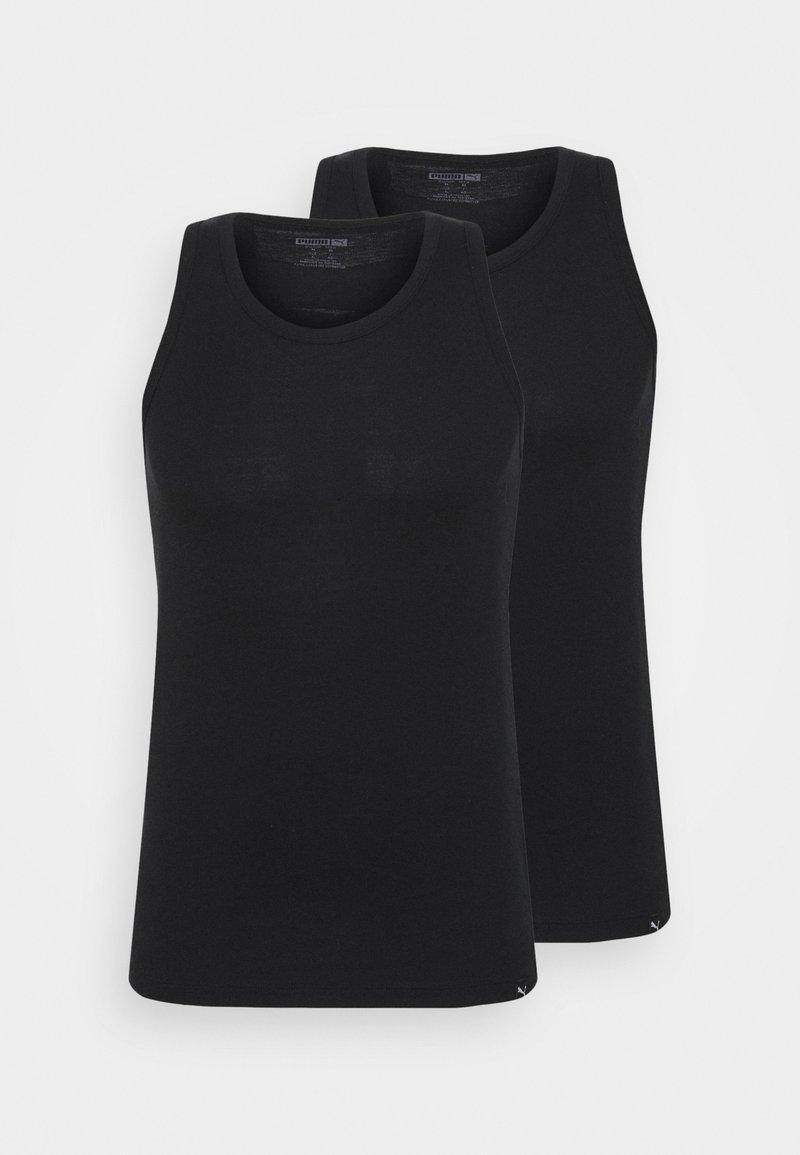 Puma - BASIC 2 PACK - Undershirt - black