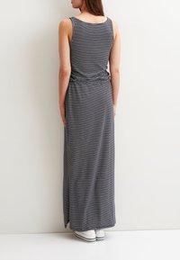 Object - OBJSTEPHANIE MAXI DRESS  - Maxi dress - mood indigo - 2