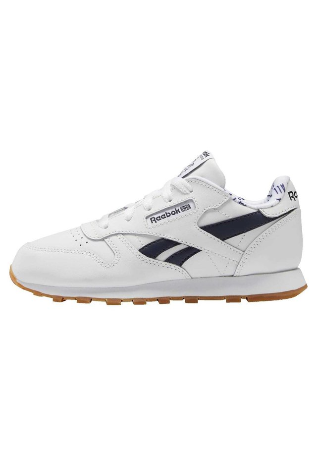 CLASSIC LEATHER SHOES - Sneakers laag - white