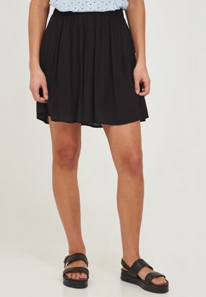 IHMARRAKECH - Pliceret nederdel /Nederdele med folder - new black