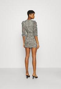 Gina Tricot - MICHELLE DRESS - Cocktail dress / Party dress - white spot - 2