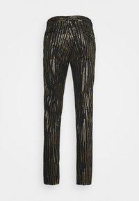Twisted Tailor - SAGRADA SUIT - Garnitur - black/gold - 4
