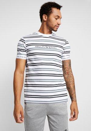 DIVISION TEE - Print T-shirt - white