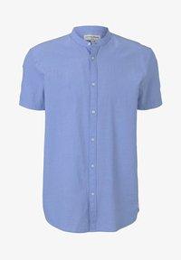 light blue minimal dobby