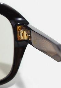 Dunhill - UNISEX - Sunglasses - black/black/yellow - 4