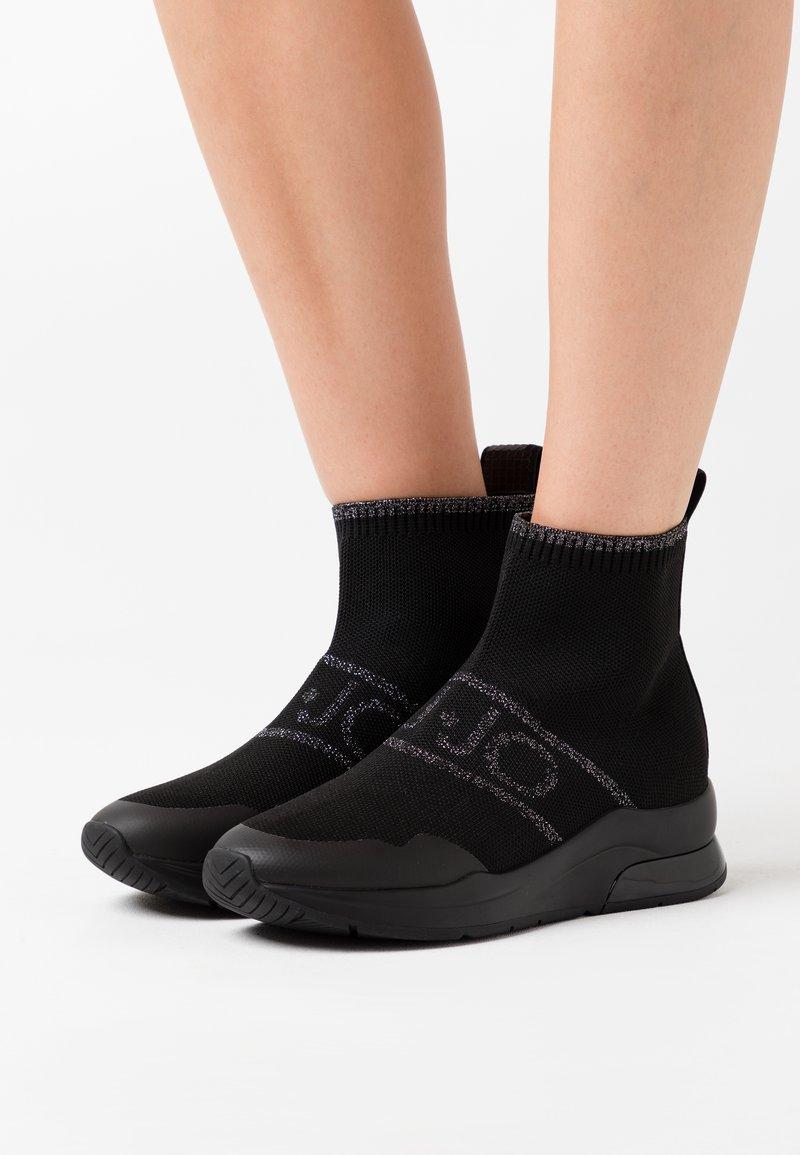 Liu Jo Jeans - KARLIE  - Baskets montantes - black