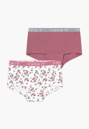 NKFHIPSTER 2 PACK - Pants - heather rose