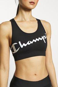 Champion - BRA - Reggiseno sportivo con sostegno medio - black - 5