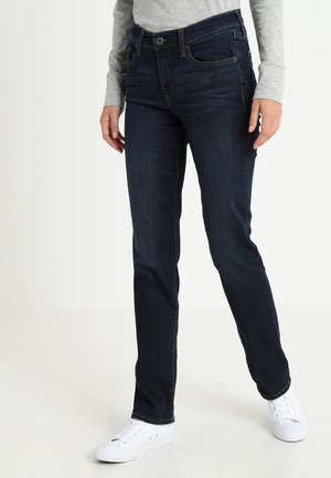 MOON RIVER - Straight leg jeans - dark indigo