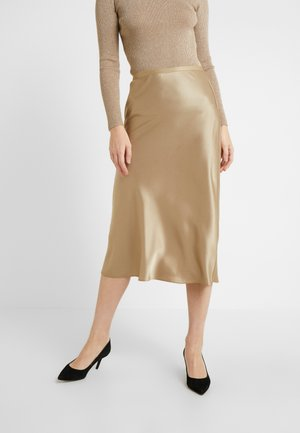 AMLA SK-SKIRT - A-line skirt - montana khaki