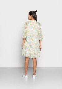 Esqualo - DRESS LAYERS VIRTUAL GARDEN - Day dress - multi-coloured - 2