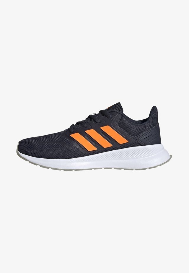 RUNFALCON UNISEX - Neutral running shoes - legink/sigorg/metgry