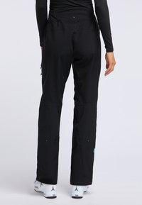 PYUA - RELEASE - Pantaloni da neve - black - 2