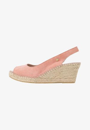 Loafers - soft rose