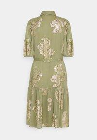 b.young - FVIDUN DRESS  - Shirt dress - swamp - 1