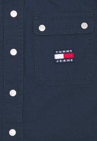 Tommy Jeans - BUTTON MINI UTILITY SKIRT - Mini skirt - twilight navy - 2