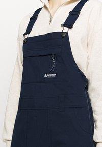 Burton - AVALON BIB  - Snow pants - dress blue - 4