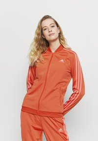 adidas Performance - Tracksuit - crered/hazros - 4