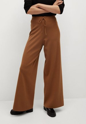 SOL - Trousers - marron moyen