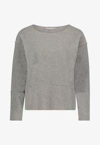 Betty & Co - MIT RUNDHALSAUSSCHNITT - Sweatshirt - braun melange - 3