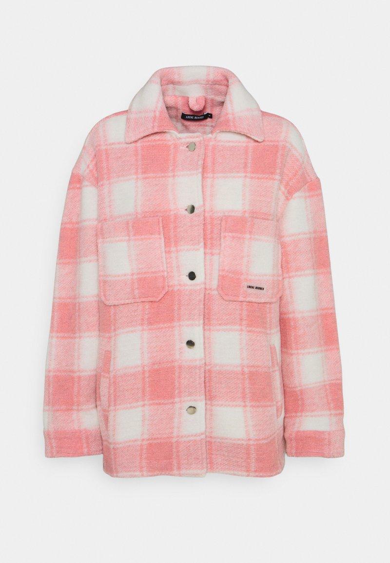 Local Heroes - TWIGGY JACKET - Summer jacket - pink