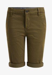 WE Fashion - Shorts - moss green - 0