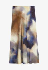Massimo Dutti - A-line skirt - dark blue - 2
