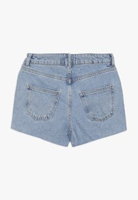 New Look 915 Generation - ANNIE RIPPED MOM SHORT  - Jeans Short / cowboy shorts - blue pattern - 1