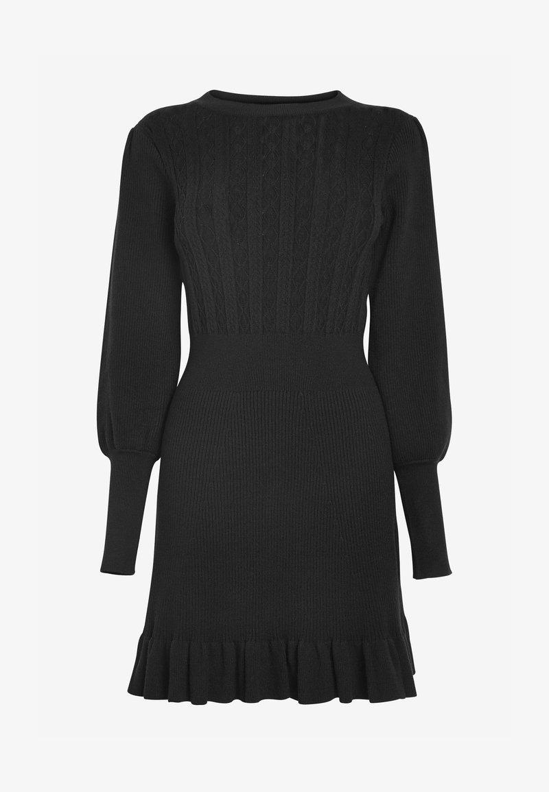 Next - Jumper dress - black