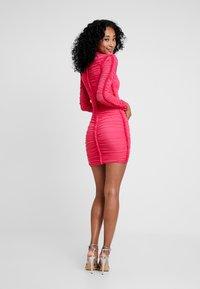 Club L London - Day dress - hot pink - 3